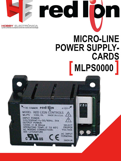 Micro-line power supply RED LION