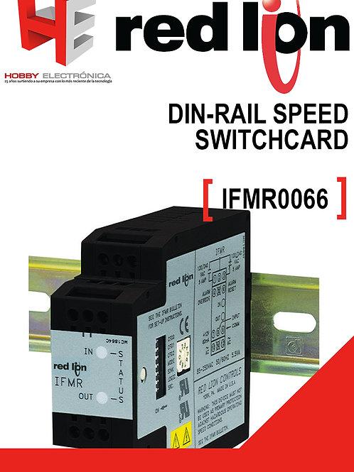 Din-rail speed switch RED LION