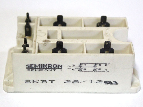 SEMIKRON SKBT2812 BRIDGE RECTIFIER 1PH 100MA 1.2KV