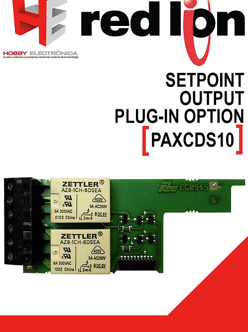 Setpoint output plug-in option cards RED LION