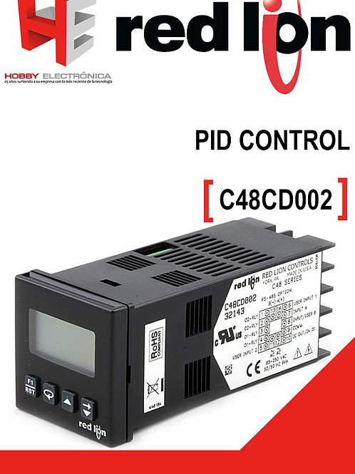 Pid control RED LION
