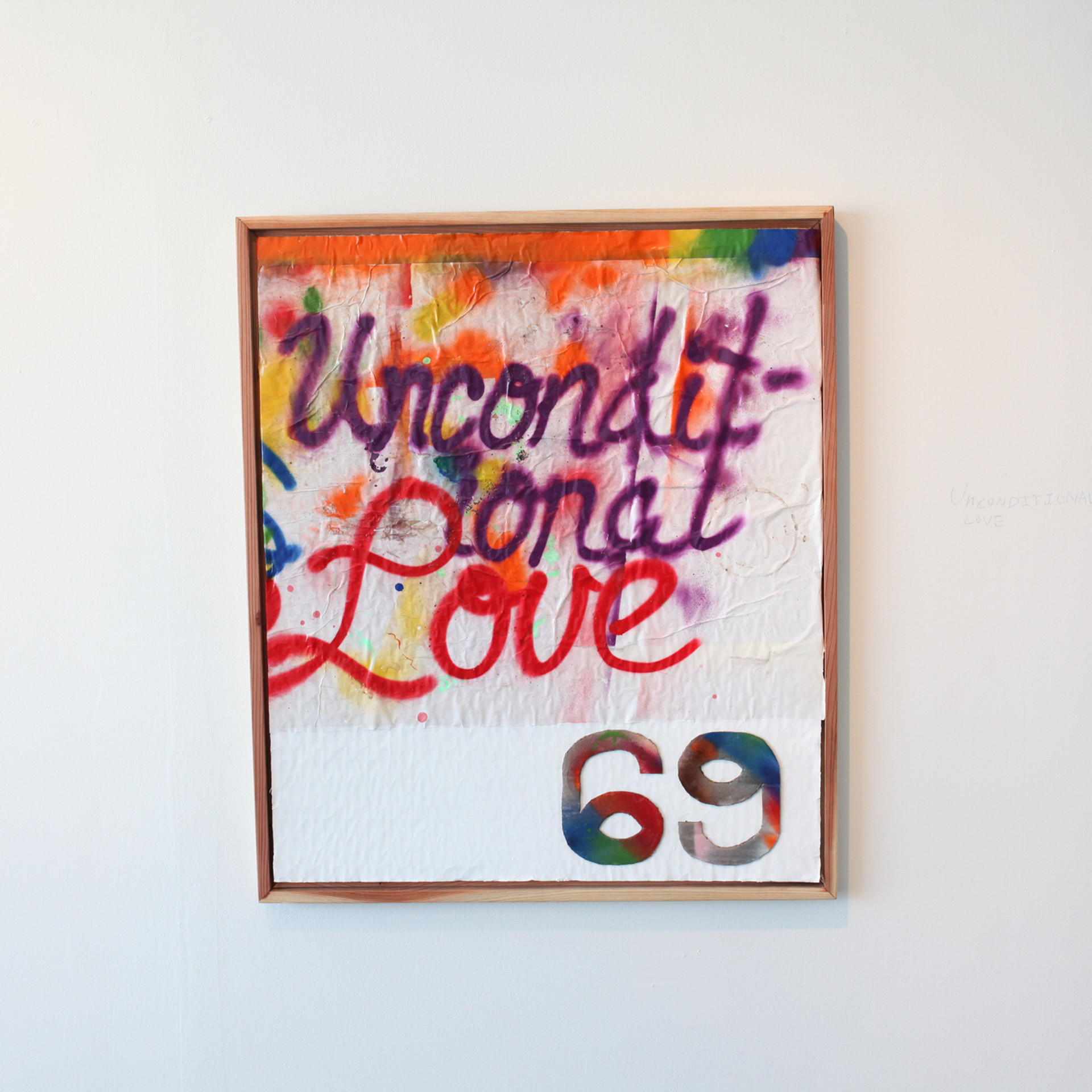 Uncoditional Love, 2019