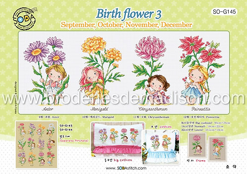 Birth Flower 3