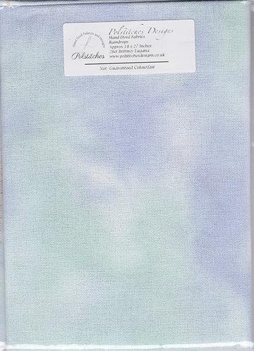 Raindrops - Toile Etamine 11 fils/cm