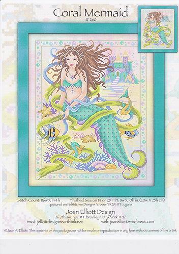 Coral Mermaid - Grille