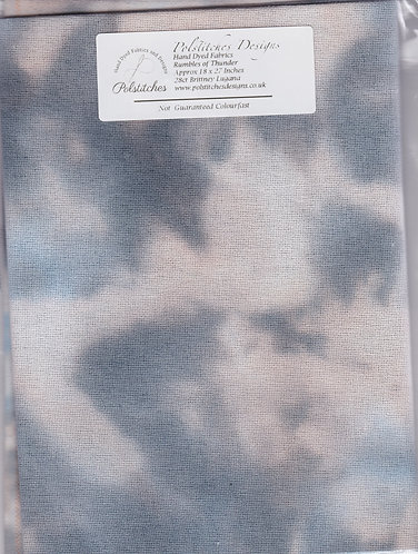 Rumbles of Thunder - Toile Etamine 11 fils/cm