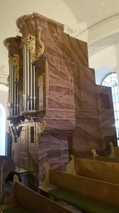 Organová skriňa
