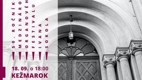 Pozvánka: Organový koncert - 50. ročník MOF Ivana Sokola