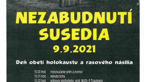 Pozvánka: Deň obetí holokaustu a rasového násilia