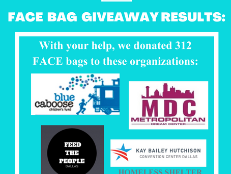 FACE Bag Giveaway Event!