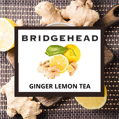 Bridgehead Ginger Lemon Tea - 100g