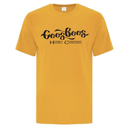 Gees Bees Tee - Yellow or Black