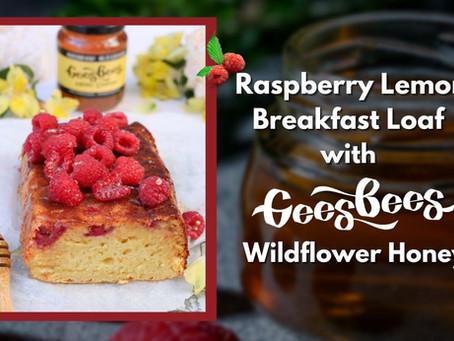 Honey Raspberry Lemon Loaf Recipe