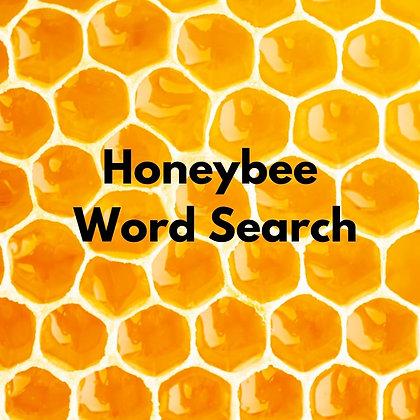 Honeybee Word Search