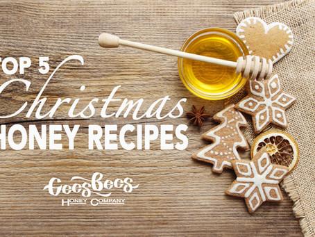 Top 5 Honey Christmas recipes