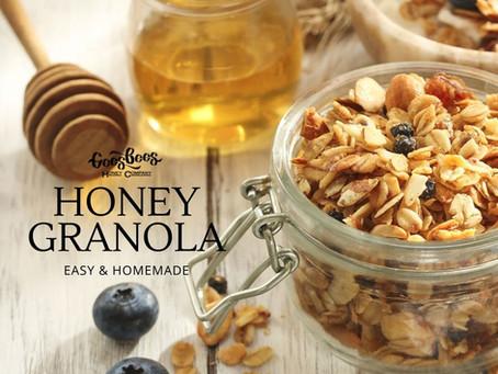 Homemade Honey Granola