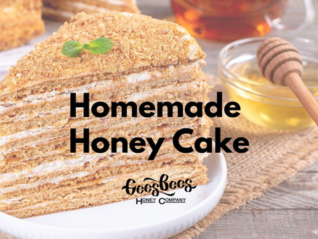 Homemade Buckwheat Honey Cake Recipe