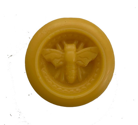 Pure Canadian Beeswax Medallion - 30g / 1 oz.
