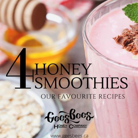 Honey Smoothie Recipes