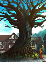 Keyleth and the Sun Tree