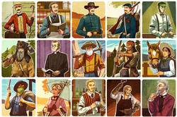 Character Card Illustrations