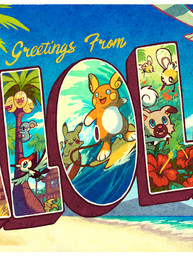 Greetings from Alola