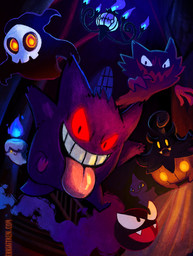 Gengar and Friends