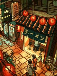 Ramen in the Alley