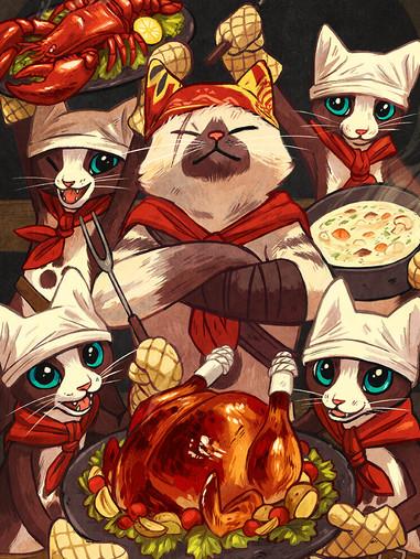 Palico Chefs