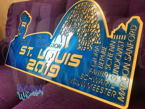St. Louis 2019 Hockey Skyline