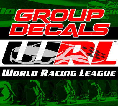 WRL Group Decals