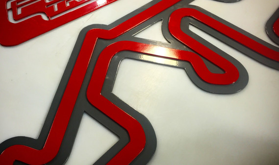 Autobahn Country Club Stacked Track