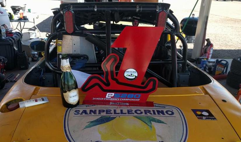 Podium winner at High Plains Raceway WRL