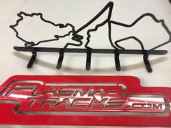 Track Rack w 8 inch tracks