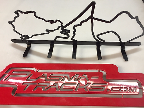 Race track Coat Racks