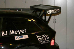 M Coupe Rear wing Supports
