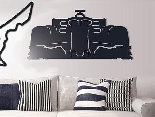 Formula Car Silhouette