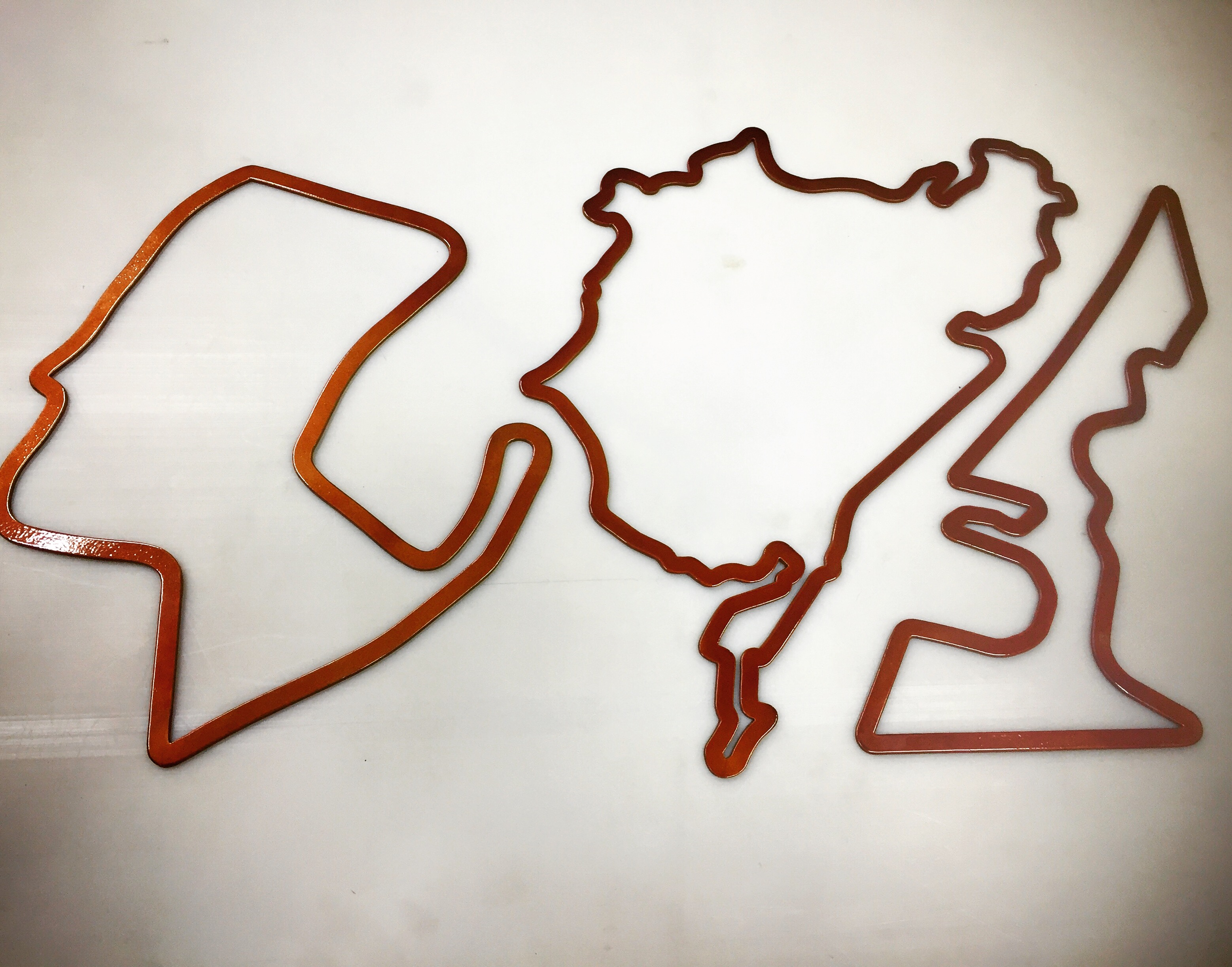 24 inch Laguna Seca, Nurburgring Full and Circuit of the Americas