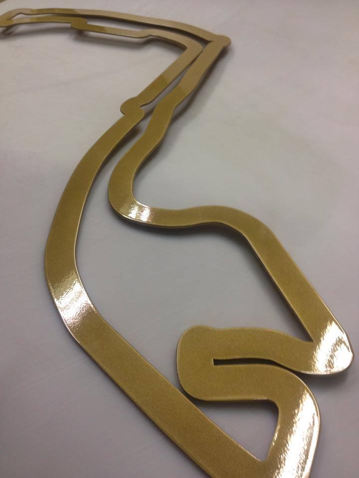 48 inch Monaco Gold Powder Coat