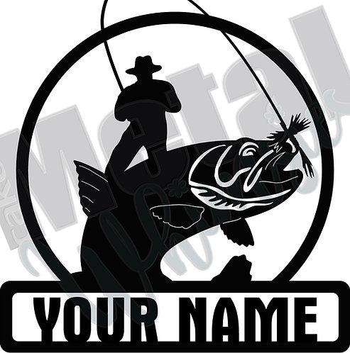 Fishing Garage Sign