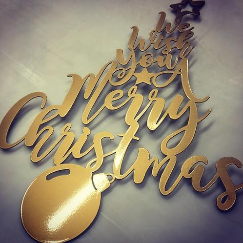 We Wish You a Merry Christmas - Inspiring Holiday Decor