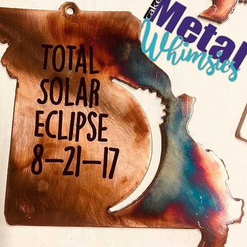 2017 Eclipse State Ornament