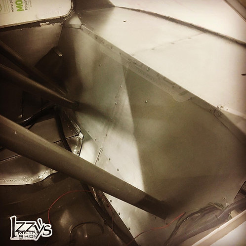 E30 Aluminum Bulkhead for caged chassis