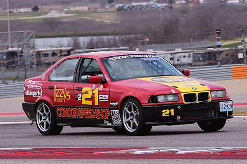 E36 BMW Road Race 6 point cage pads