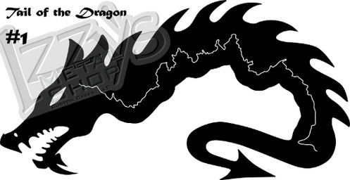 Tail Of The Dragon Deals Gap Us Route 129 - Us-129-tail-of-the-dragon-map