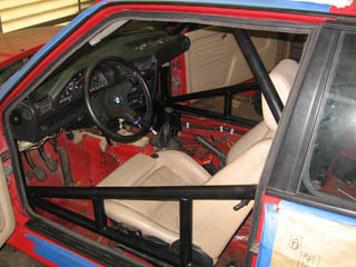 E30 M3 6 point cage