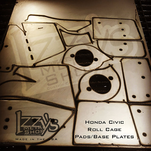 Civic Roll Cage Pads - 6th Gen Road Race & Rally