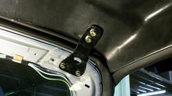 S2K Front Hardtop Bracket Installed