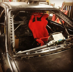 Wrapped up our last official cage today! We are shifting our focus away from primarily roll cage wor