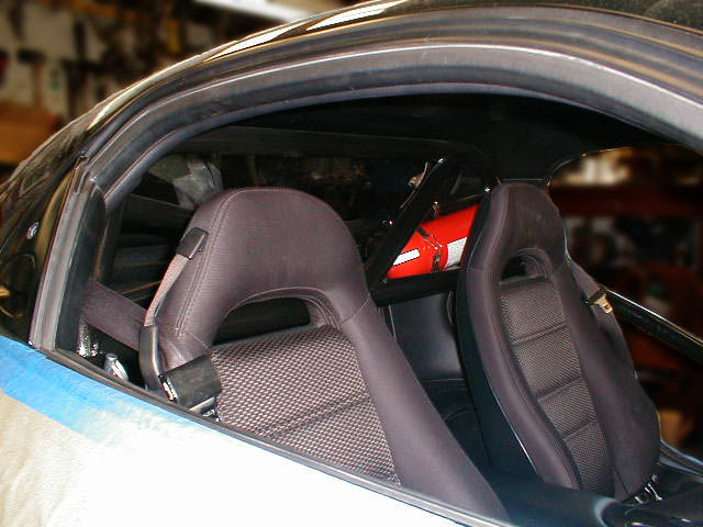 3rd Gen FD RX7 6 point roll bar